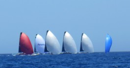 spinakers up